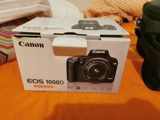 cámara Canon 1000d