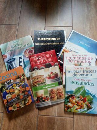 libros Thermomix y cocina