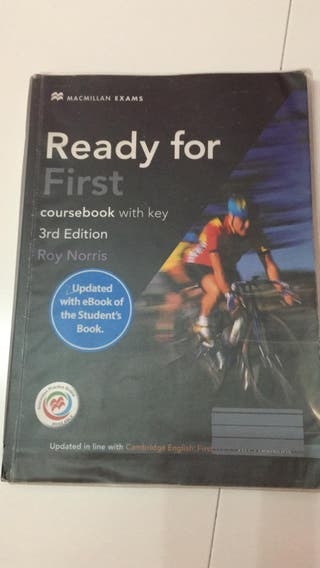 """LIBRO INGLES """"READY FOR FIRST"""""""