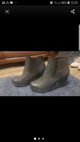 boot wedges size 8