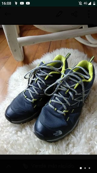 zapatillas the north face 40,5