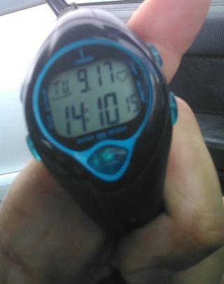 Reloj pulsómetro corazón