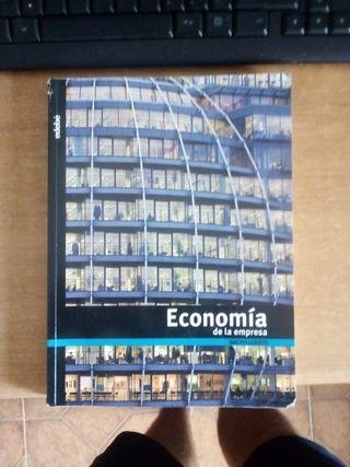 libro Economía de la empresa 2° bachillerato edebé