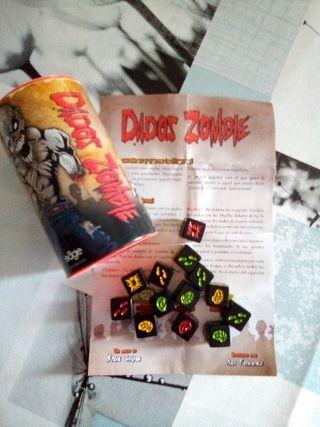 Juego Dados Zombie