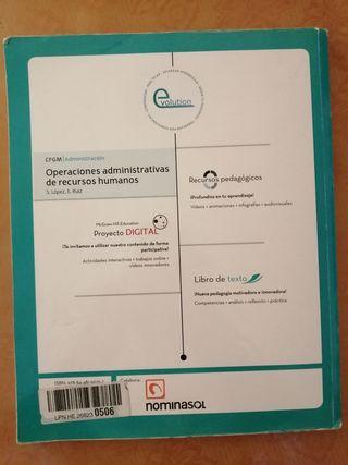 operaciónes administrativas de recursos humanos