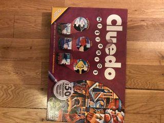 Cluedo -juego de mesa