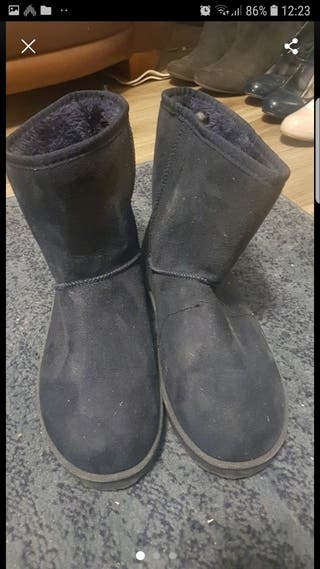 fluffy boots size 8