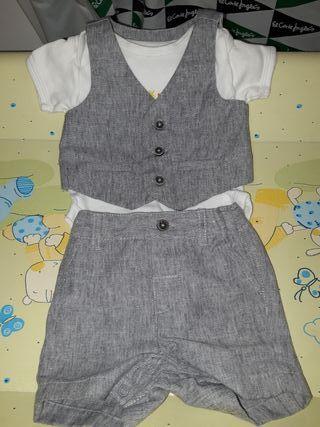 ropa bebé niño 0-3meses