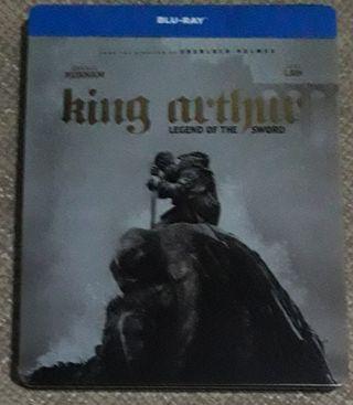 King Arthur Rey Arturo steelbook blu-ray
