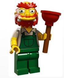 Willie Serie Lego Simpson 2