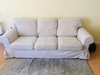 Sofa 3 plazas ikea modelo EKTORP