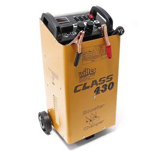 WilTec Boost 430 cargador arrancador carga bateria