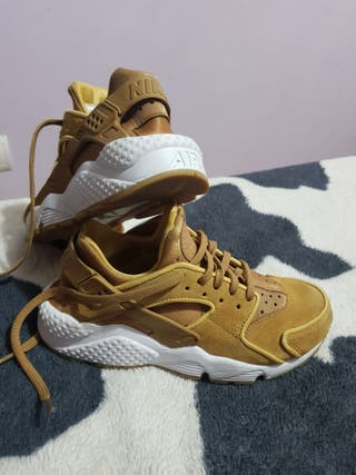 Deportivas Zapatillas Nike huarache mujer marron