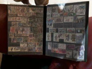 mas de 500 sellos antiguos de coleccionismo