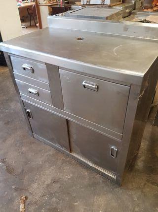 mueble cafetero bar acero