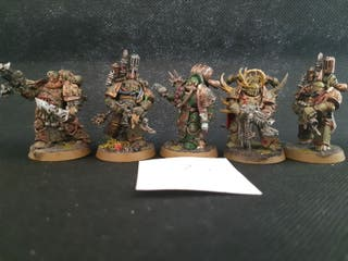 "Warhammer 40k Death Guard ""Plague Marines"""