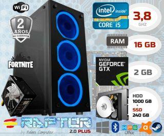 PC Gaming nuevo, Intel Core i5 , 16 GB, GTX 750