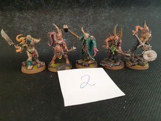 "Warhammer 40k Death Guard ""Poxwalkers"""