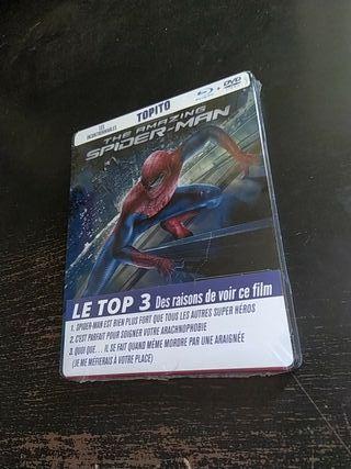 Blu ray steelbook - The amazing Spiderman