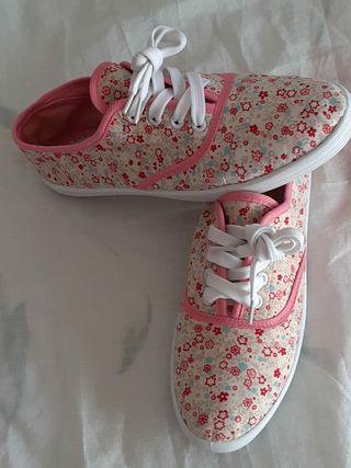 zapatillas de deporte para niña