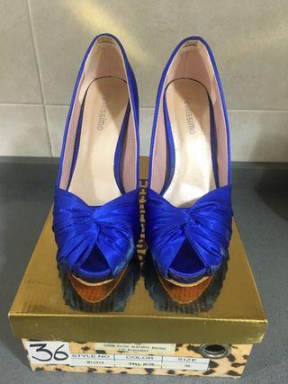 Zapatos tacón de celebraciones