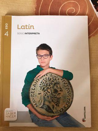 Libro de Latín 4 ESO