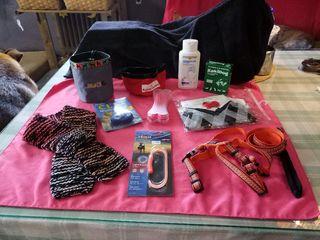 Bolso, Bandolera y accesorios para perro,bufanda