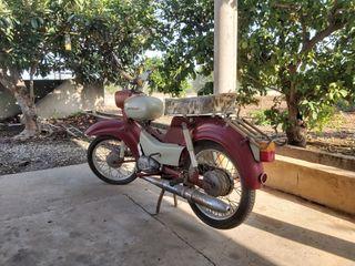 moto antigua Simson suhl star