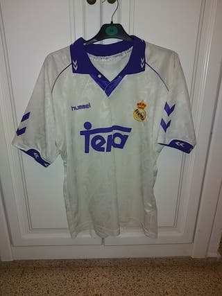 camiseta fútbol Real Madrid Hummel