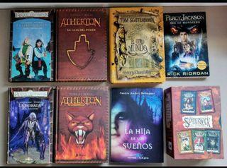 Libros de fantasía juvenil