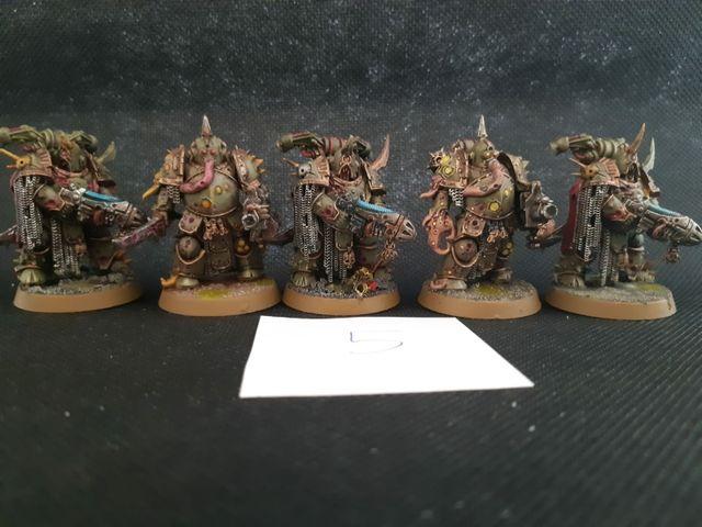 "Warhammer 40k Death Guard ""Plague Marines"""