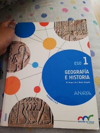 libro de geografía 1eso