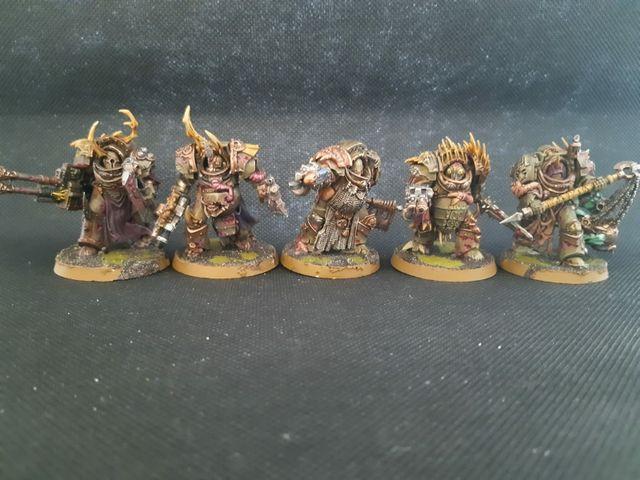 "Warhammer 40k Death Guard ""Blightlord Terminators"""
