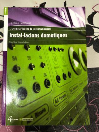 Libro INSTAL.LACIONS DOMOTIQUES