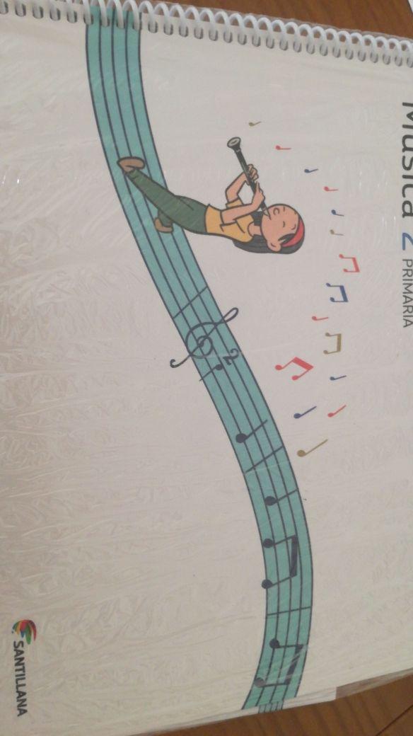 libro de música de 2 primaria