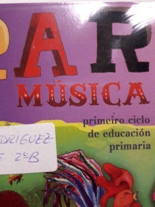 libro de musica 2°primaria