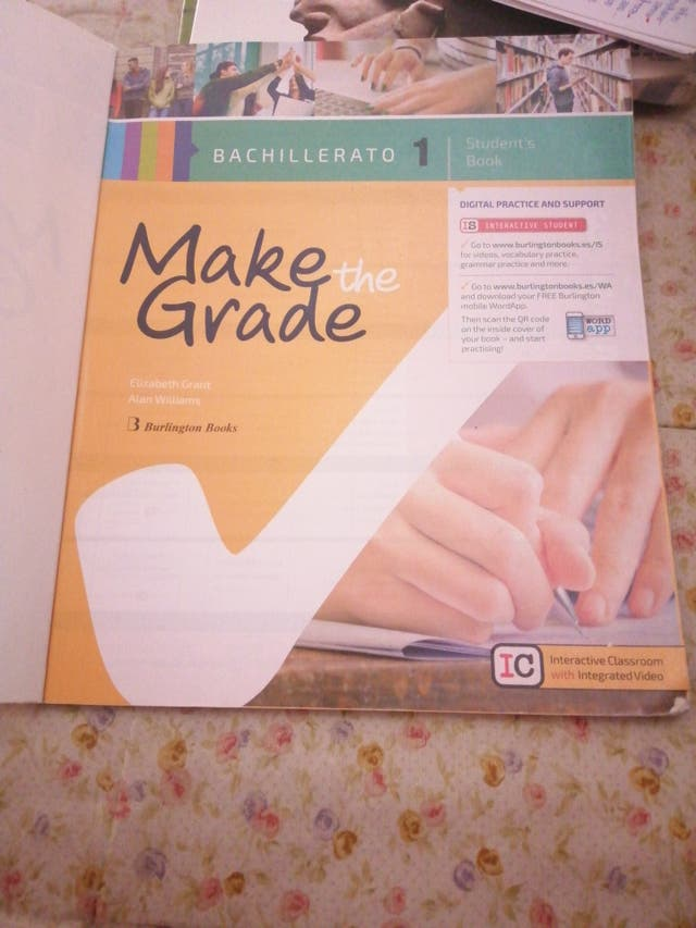 Libro Ingles 1 Bachillerato Make The Grade - Libros
