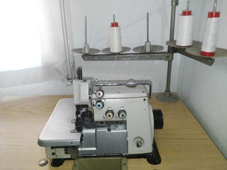 Maquina coser overlock 5 hilos