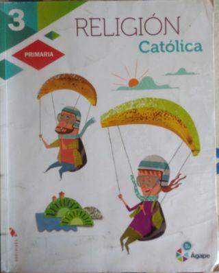 LIBRO RELIGION 3 PRIMARIA Edelvives Agape
