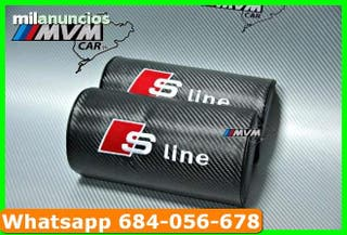 Ref:L)T!P Cubre cinturones Audi S-line Carbono