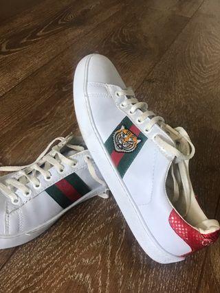 gucci zapatillas tigre talla 39-40