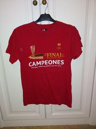 camiseta conmemorativa Atlético de Madrid Bucarest