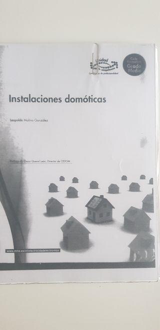 Instalaciones domóticas.