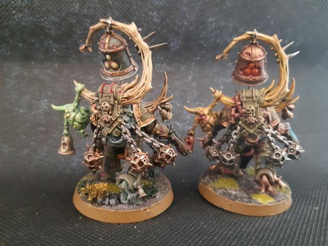 Warhammer 40k Death Guard Campanero