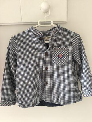 Camisa Niño Pili Carrera talla 18 meses