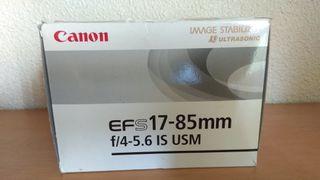 Objetivo Canon 17-85mm f/ 4-5.6 IS USM
