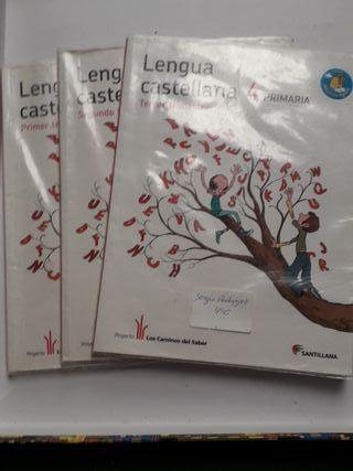 libro lengua castellana 4°primaria