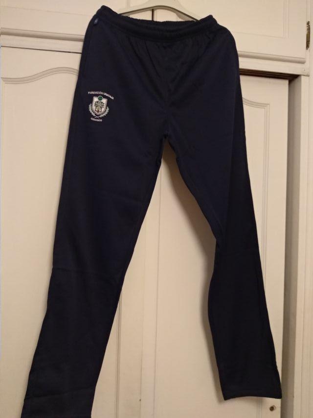 pantalón chándal uniforme colegio Rosario Moreno