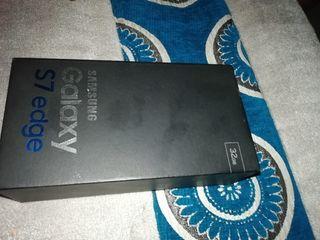 caja de Samsung s7 edge