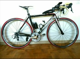 bicicleta con acoples